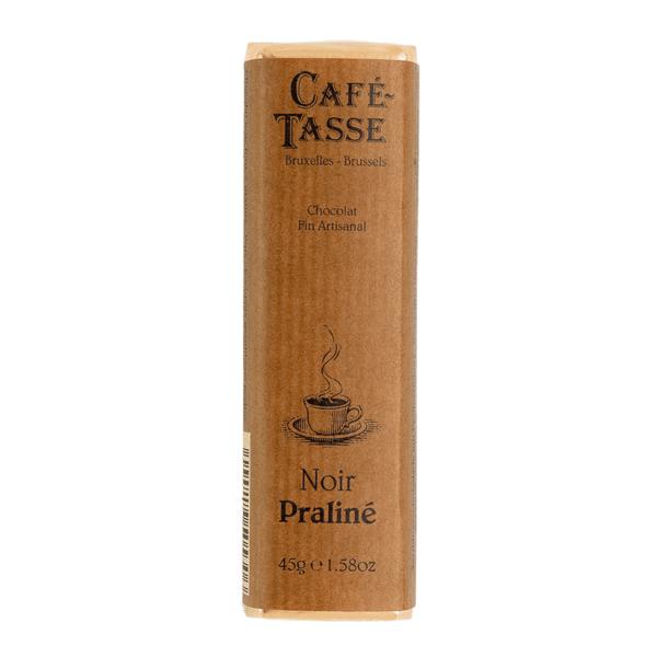 Café-Tasse белгийски шоколад-черен с пралина